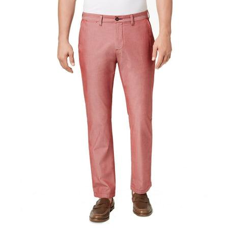 Tommy Hilfiger Mens 44x32 Custom Fit Flat Front Pants