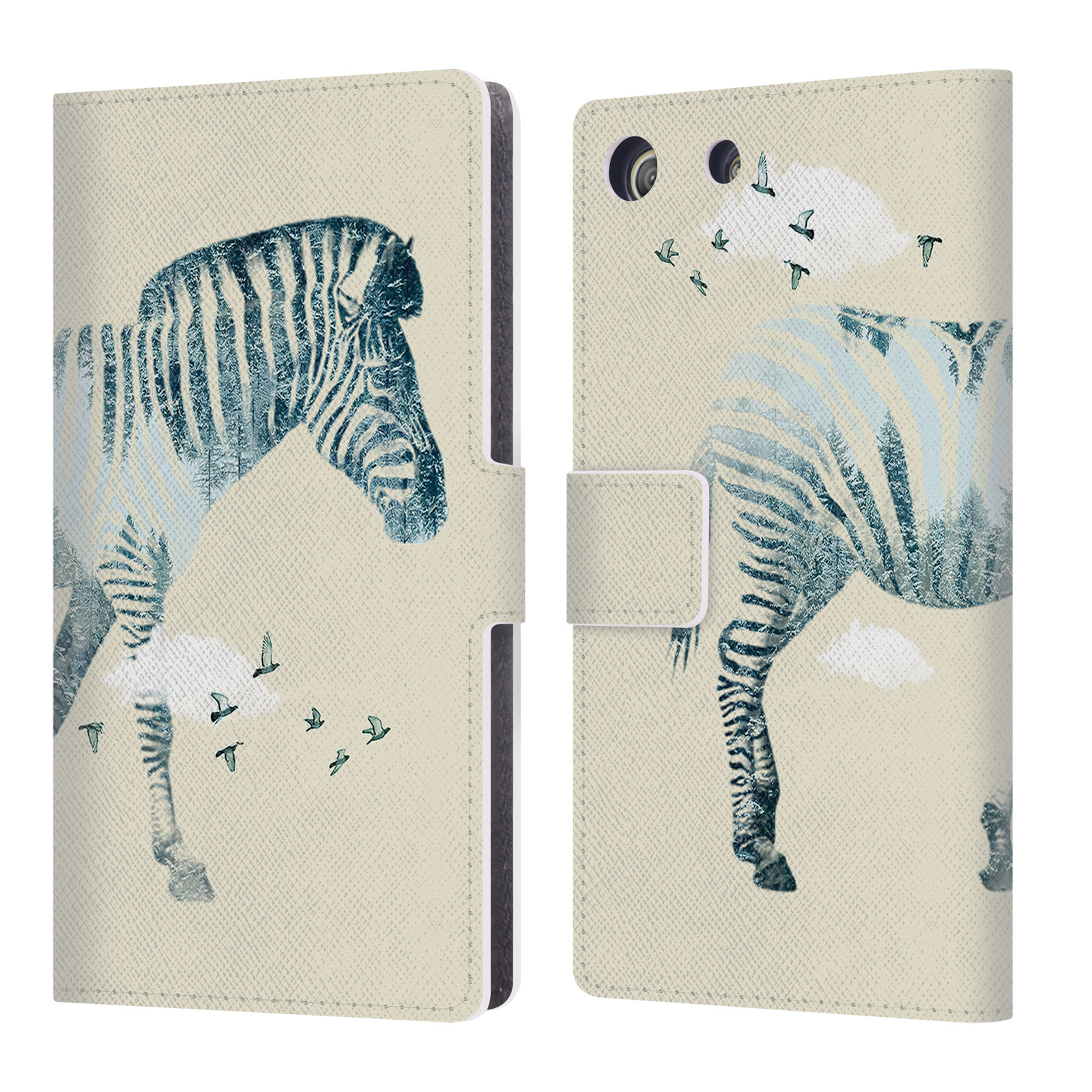 OFFICIAL VIN ZZEP ANIMALS LEATHER BOOK WALLET CASE COVER FOR SONY PHONES 2