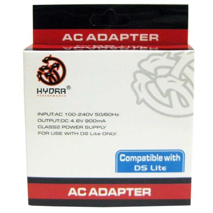 DS Lite AC Adapter Hydra Performance Accessories