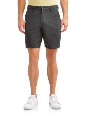 "George Men's Flat Front Shorts, 9"" inseam"
