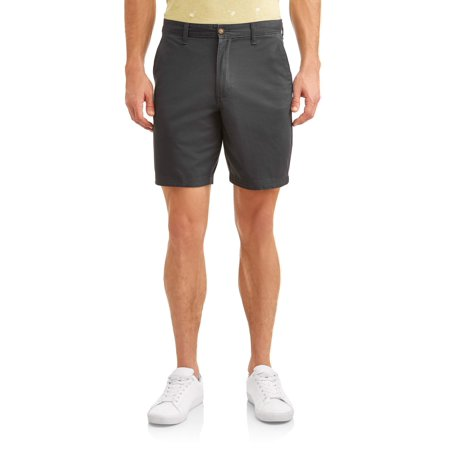 "George Men's Flat Front Shorts, 9"" inseam"