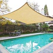 Yescom 20'x16' Rectangle Sun Shade Sail UV Blocking Canopy Patio Cover