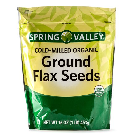 Spring Valley Cold-Milled Organic Ground Flax Seeds, 16 Oz (Flax Essence)