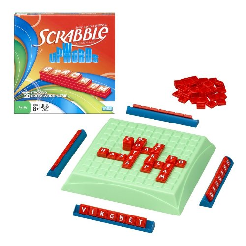 Scrabble Upwords, You and your opponents spell words with...