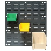 QUANTUM STORAGE SYSTEMS QLP-1819 Louvered Panel, 18 x 1/4 x 19 In