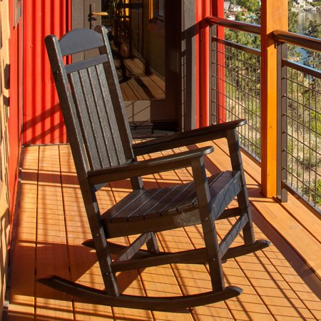 Polywood Traditional Deck - POLYWOOD® Presidential Recycled Plastic Rocking Chair