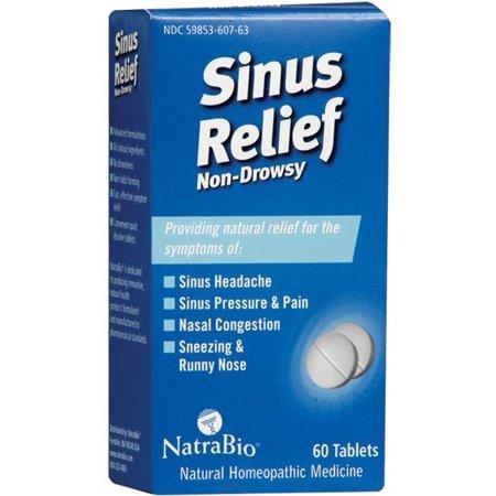 Natra Bio Sinus Relief, 60 Ct