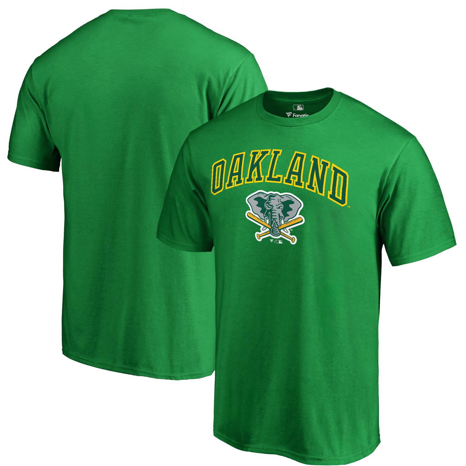 Oakland Athletics Fanatics Branded Cooperstown Collection Wahconah T-Shirt - Kelly Green