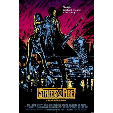 Pop Culture Graphics MOVAE8096 Streets of Fire Movie Poster, 11 x 17 - image 1 de 1