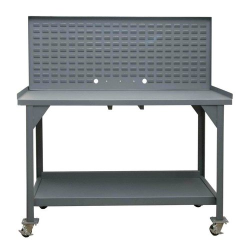 Durham Manufacturing Mobile 60''W Steel Top Workbench