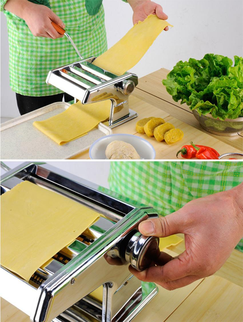 """7"""" Pasta Maker Roller Machine Dough Making Fresh Noodle Maker Stainless Steel GOGBY by"""