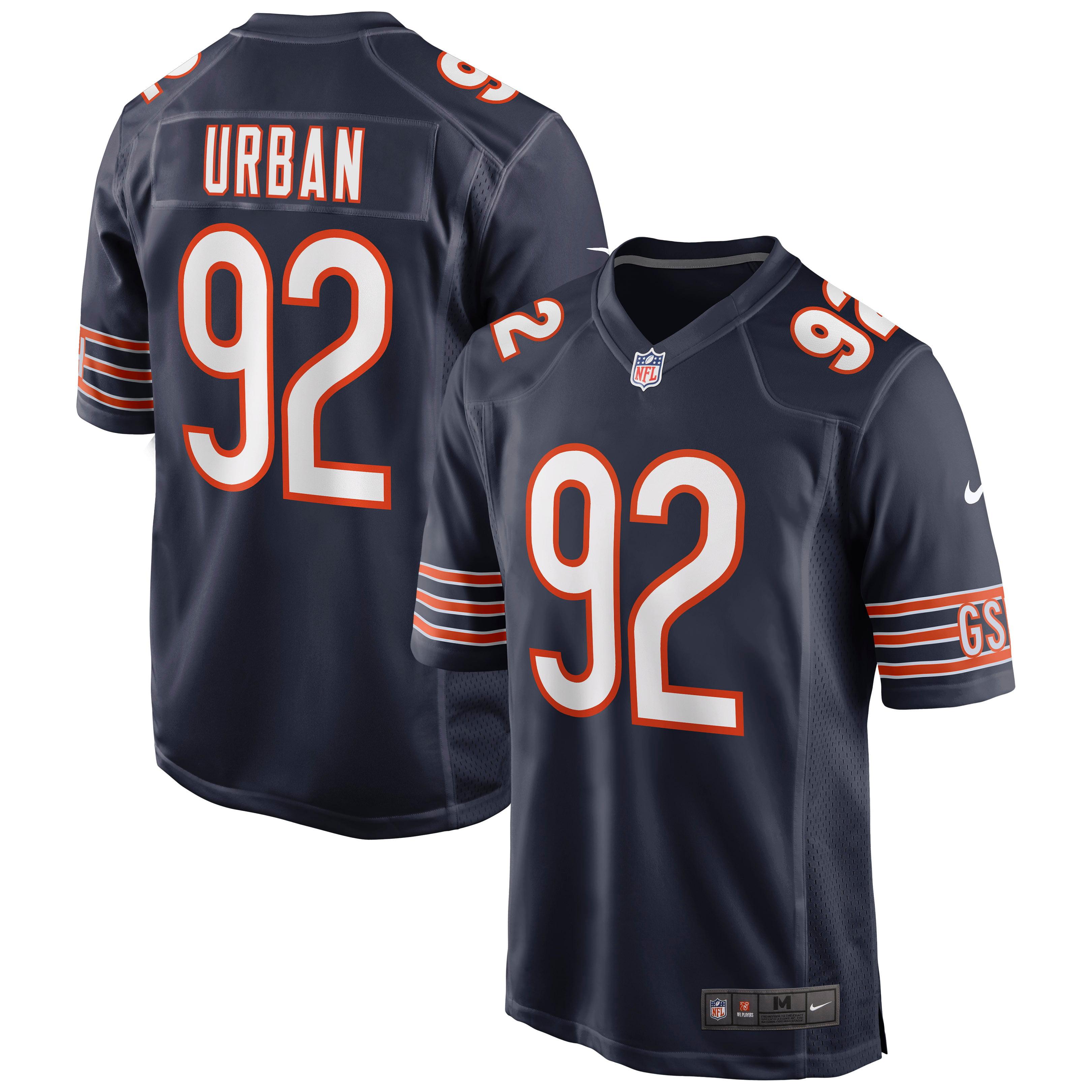 Brent Urban Chicago Bears Nike Game Jersey - Navy - Walmart.com