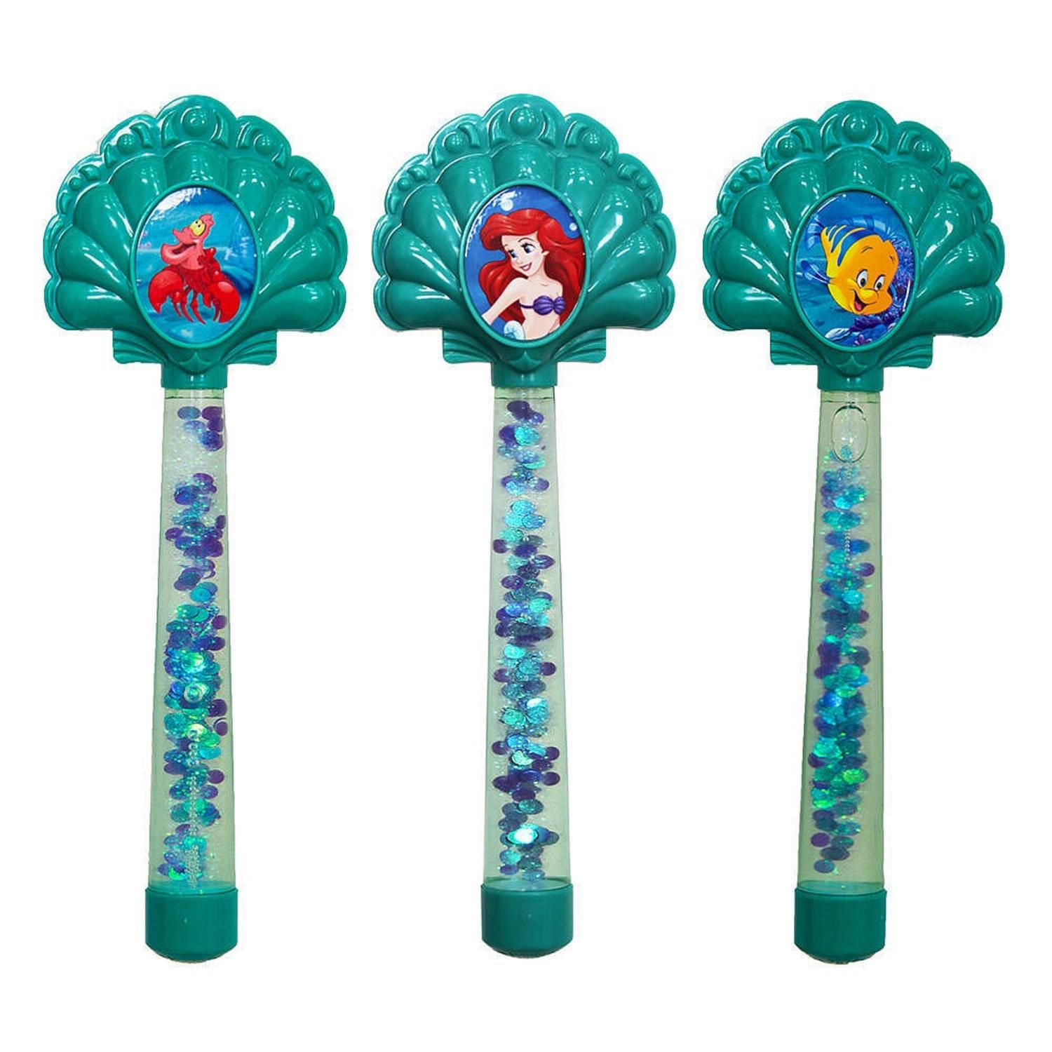 Set of 3 Disney Princess Ariel Swimming Pool Glitter Dive Wands