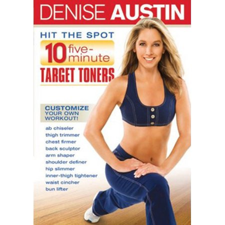 Denise Austin: Hit The Spot 10 Five Minute Target Toners (DVD)