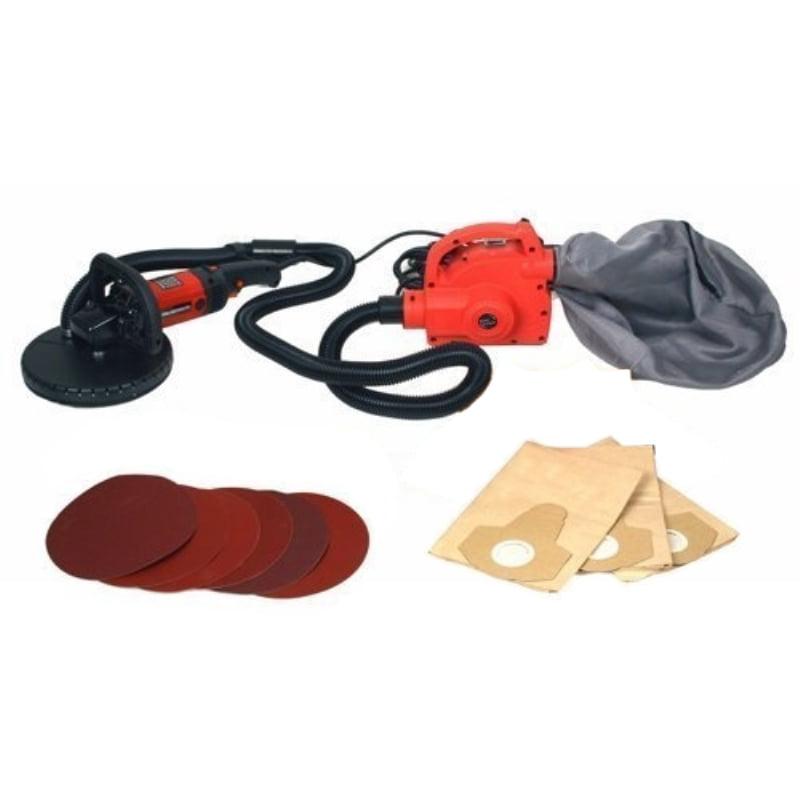 ALEKO Portable Drywall Sander - 690D And Vacuum Cleaner - 690V - Heavy Duty Combo Kit