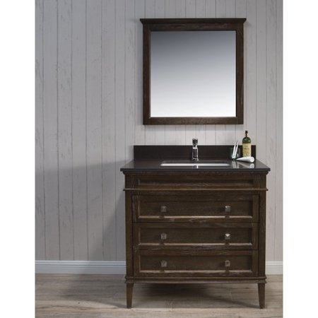 Willa Arlo Interiors Sawyer Traditional 37 39 39 Single Bathroom Vanity Set With Mirror