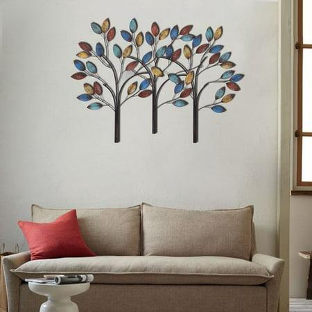 Red barrel studio metal tree branch wall decor for Al ahram aluminium decoration