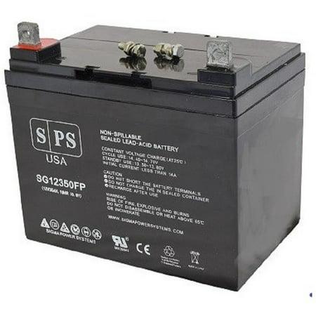 Price Shopper (SPS Brand 12V 35Ah Replacement battery for Amigo Mobility Value Shopper Wheelchair)