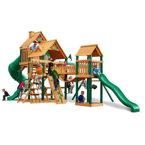 Gorilla Playsets Treasure Trove Wood Swing Set