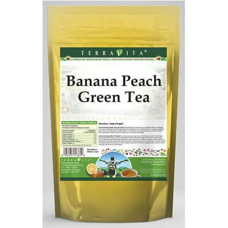 Banana Peach Green Tea (25 tea bags, ZIN: 537876)