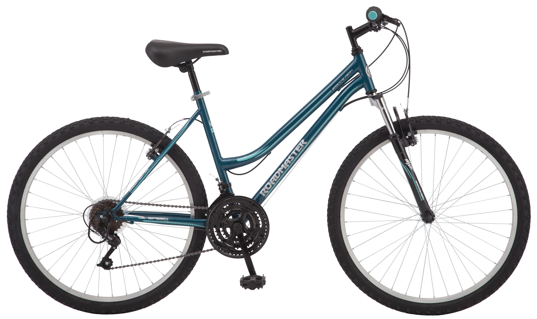 "Roadmaster Granite Peak Women's Mountain Bike, 26"" wheels, teal"