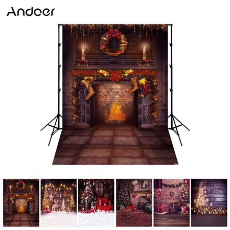 Themed Props For Sale (Andoer 1.5*2 meters / 5*7 feet Christmas Holiday Theme Background Photo Studio Props Foldable Polyester Fibre Photography Backdrop for Newborn Portrait Christams Party Photography 6 Models for)