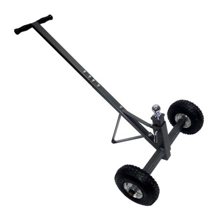 Tow Tuff TMD-600AFF Adjustable Solid Steel 600 Pound Capacity Trailer