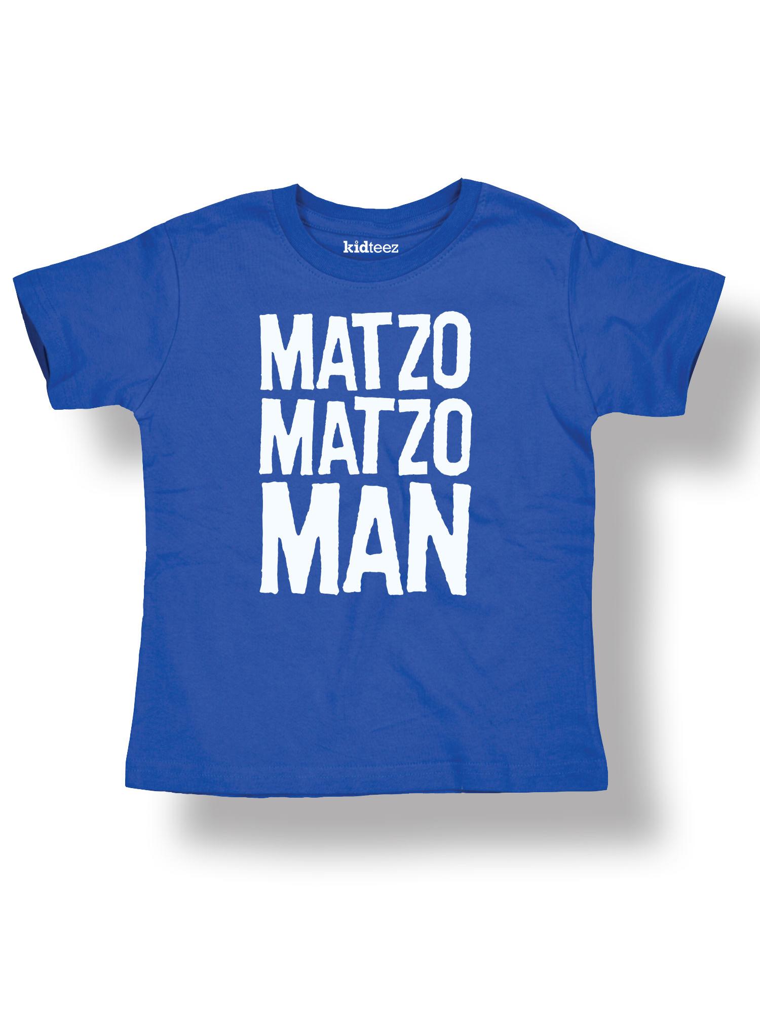 Matzo Matzo Man Cool Holiday Jewish-Toddler T-Shirt
