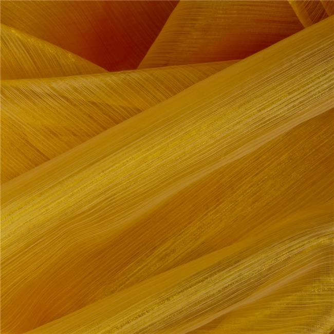 Organza Royale Decorative Fabric - Sun Gold, 25 yards