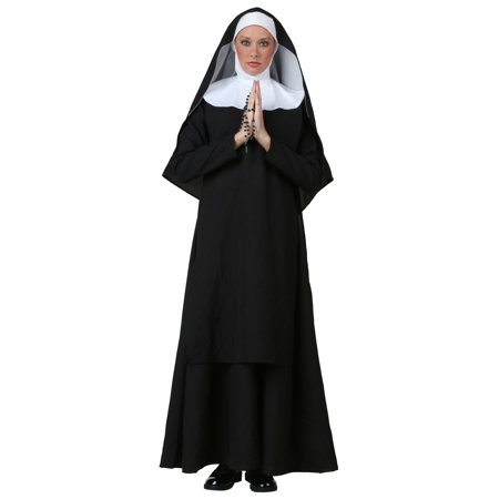 Nun Suit (Plus Size Deluxe Nun Costume)