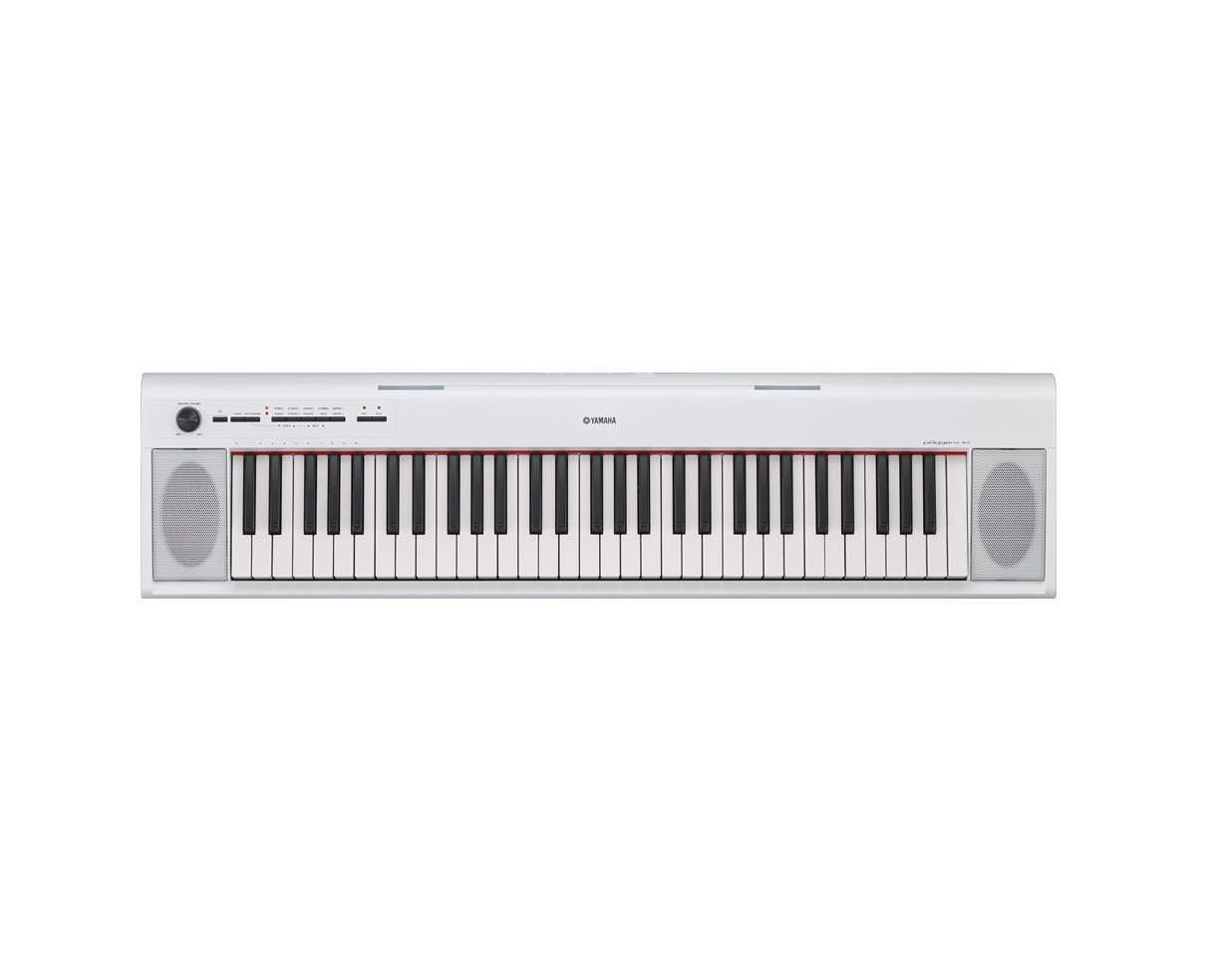 Yamaha NP12 61-Key Lightweight Portable Keyboard, White by Yamaha