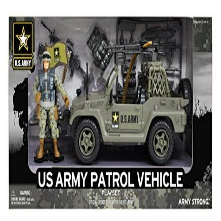 U.S. Army Figure Patrol Playset Us Army M249