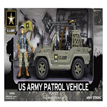 U.S. Army Figure Patrol Playset