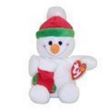 TY Beanie Baby Stockings Snowman