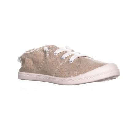 Womens MG35 Brooke Slip on Low Top Sneakers, Sand Canvas ()