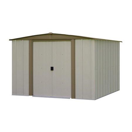 Arrow Bedford 8 ft. W x 7.5 ft. D Metal Storage Shed