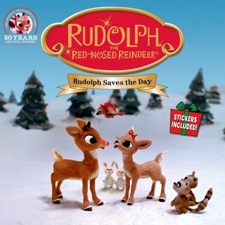 Rudolph the Red-Nosed Reindeer: Rudolph Saves the Day : Stickers