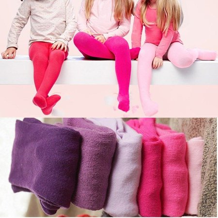 96ac74bd8a9a7 Newborn Baby Girls Tights Toddler Kids Clothing Kintting Stockings ...