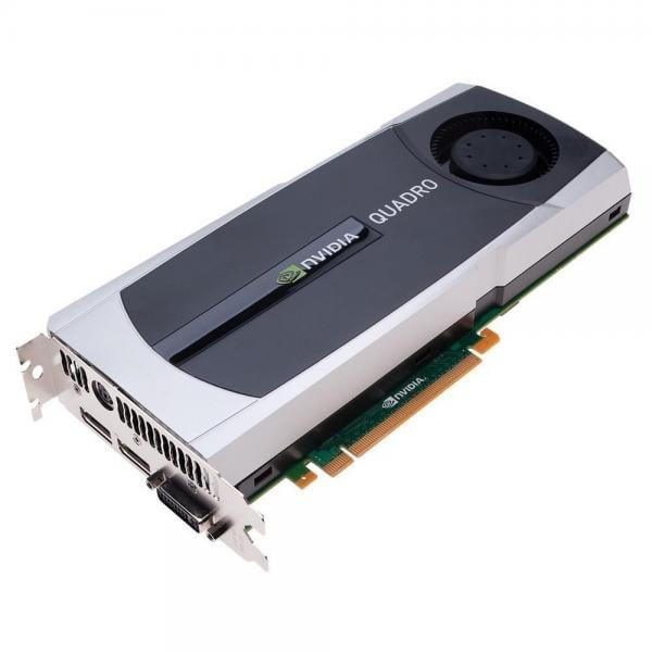PNY VCQ6000-PB Quadro 6000 6GB GDDR5 PCIE x 16 Dual DVI DisplayPort2 Workstation Video Card by PNY