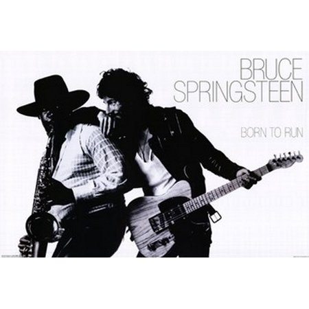 Bruce Springsteen - Born to Run Poster Poster Print - Walmart.com - Walmart.com