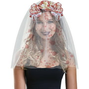Blood Dripped Flower Headband Halloween Costume Accessory