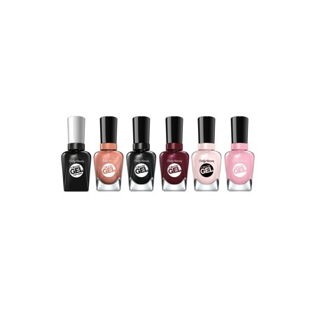 Sally Hansen Miracle Gel Best Selling Pinks, Nudes, and Reds Nail Polish (Best Selling Stock Images)