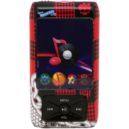 Monster High MP3/MP4 Player with Changing Face Plates