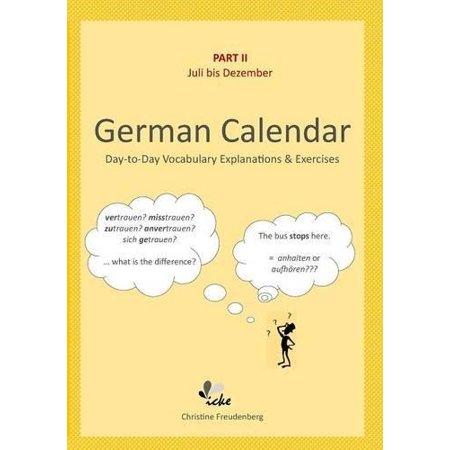 Day To Day German Calendar  July   December