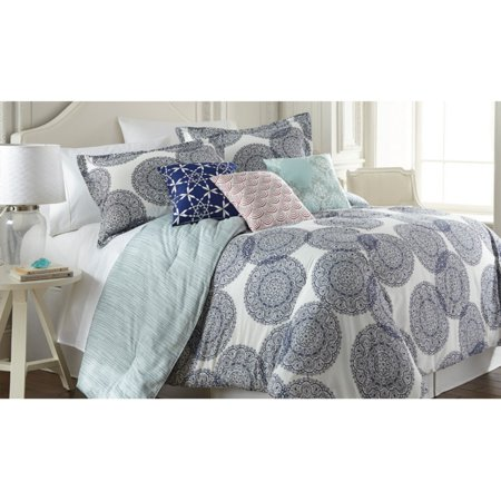 Image of 200 Thread Count 100% Cotton 6-piece comforter set Selena King