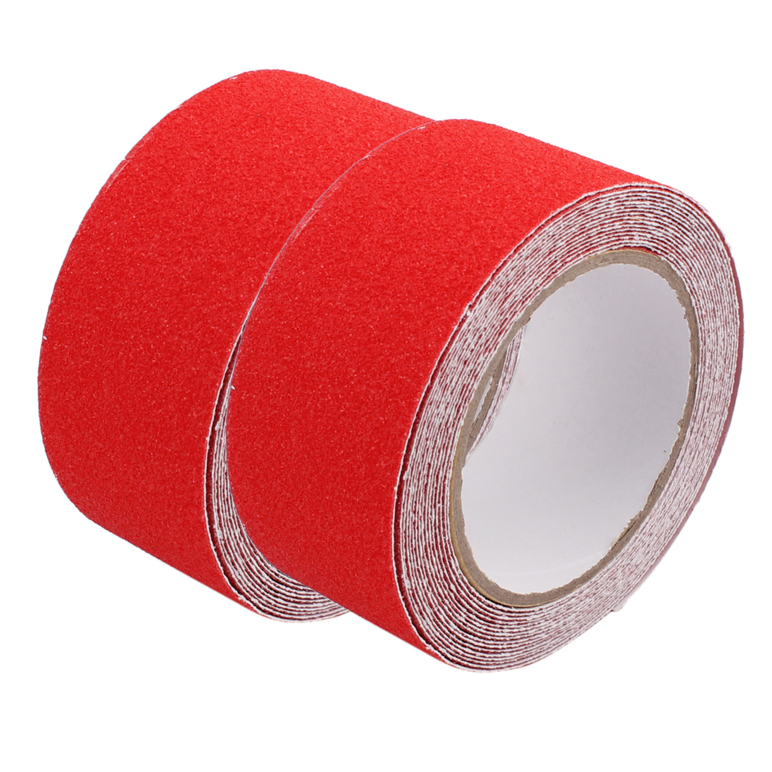 2Pcs Red Anti-Slip Grip Tape Safety High Traction Indoor Outdoor 50mmx5m