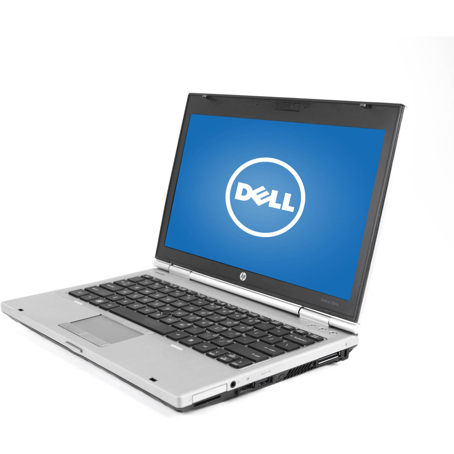"""Refurbished HP Silver 12.5"""" 2560P Elitebook Laptop PC with Intel Core i7-2620M Processor, 16GB Memory, 256GB Solid State Drive and Windows 7 Professional"""