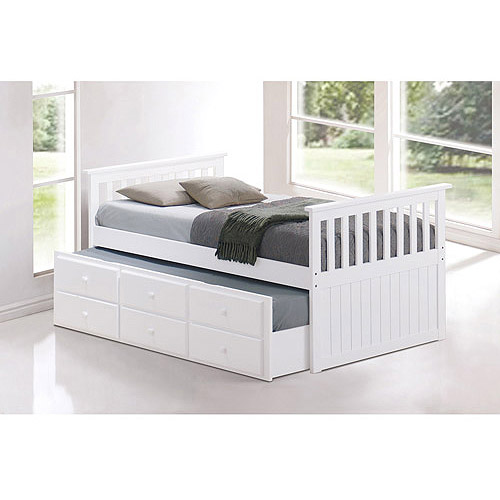 Broyhill Kids Marco Island Twin Captainaposs Bed with Trundle