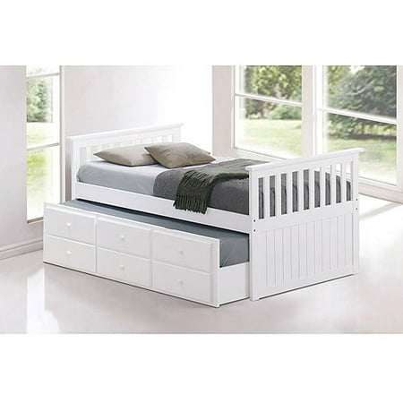 Broyhill Kids Marco Island Twin Captain 39 S Bed With Trundle