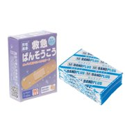 AUTONE 50Pcs Breathable Waterproof Bandage Band-Aid Hemostatic Adhesive Sport Outdoor